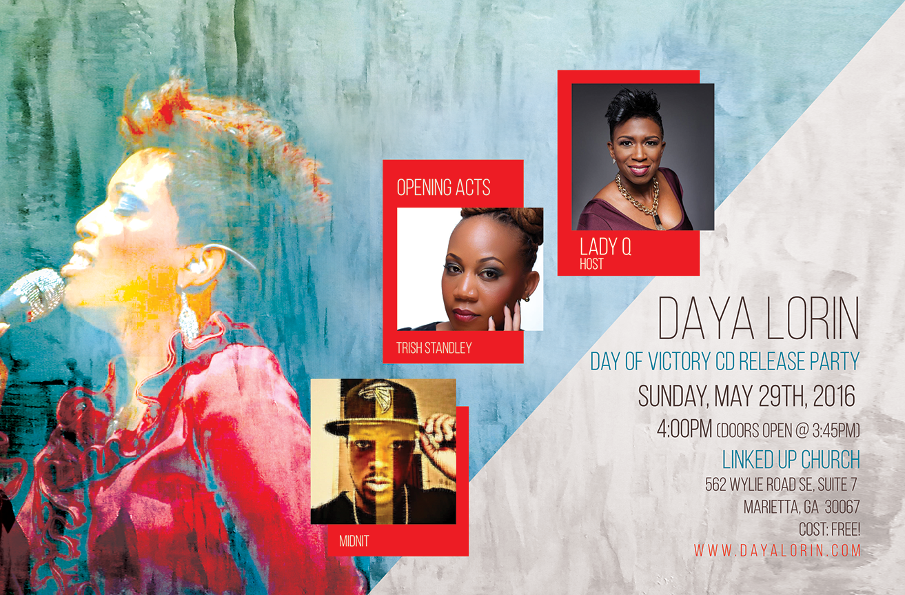 FREE! Day of Victory CD Release Party & Concert! COME CELEBRATE WITH ME!