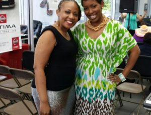 Daya at Praise 102.5 FM Gospel Jazz Live with Trish Standley