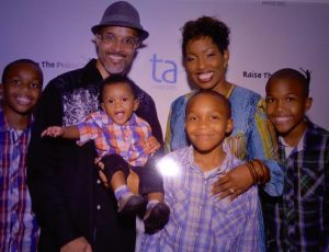 Daya and Family at Raise the Praise – Sep 2014